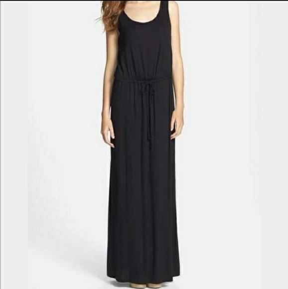 09d3f203e21 Caslon Dresses & Skirts - Caslon drawstring soft jersey knit maxi dress